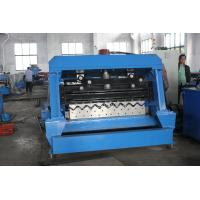 China Sigma Cold Roll Forming Machine , Steel Silo Corrugated Side Panel Roll Forming Machine on sale