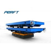 40T Battery Powered Industrial Transfer Car For Heavy Material Transportation Manufactures