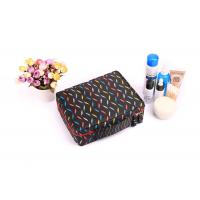 Polyester Travel Cosmetic Portable Makeup Bag , Brush Pouch Toiletry Kit Cute Women Carrying Case Manufactures