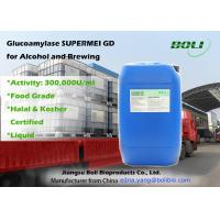 Glucoamylase For Saccharification , Liquid Glucoamylase Hydrolytic Enzymes For Alcohol And Brewing Manufactures