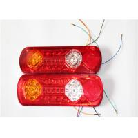 China Waterproof Double Motorcycle LED Brake Lights Red / Amber / White Color on sale