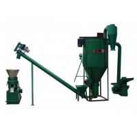 15kw Noiseless Straw Wood Pellet Machine With High Effciency Manufactures