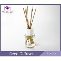 China decorative 80ml Lavender Essential Oil Reed Diffuser car air fresheners on sale