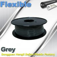 Rapid Prototyping 1.75 / 3.00mm Flexible 3d Printer Filament  0.8KG / Roll Manufactures