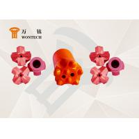 Endurable Borehole Drill Bit , Foundation Drilling tapered drill bit 6° 7° 11° 12° Manufactures