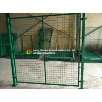 Custom Warehouse Wire Mesh Fence / Railing 2100mm X 2400mm Panel Size Manufactures