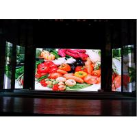 65410 dot/㎡ Indoor Fixed LED Screen For Advertising , P10 Indoor Led Display Manufactures