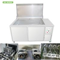 Engine Block Automotive Ultrasonic Cleaner 500L Oil Filter Recycling 28khz Frequency Manufactures