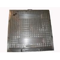 grey iron D400 water square manhole cover and frame