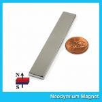 "N45 Super Strong Neodymium Magnet Bar Block 3""x 1/2""x 1/8"" inch Big Size Manufactures"