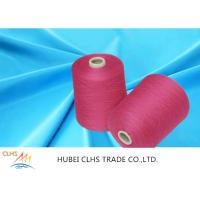 Industrial PE Dope Dyed Spun Polyester Yarn 20s 30s 40s 50s 60s Multi - Color Manufactures