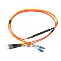 Buy cheap Single Mode Fiber Patch Cord Types (MCP) G652D Conditioning Multimode OM1 62.5 from wholesalers