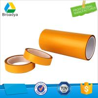 translucent self adhesive160mic Double sided PET Solvent (polyester) tape Manufactures