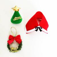 China Gift Wrapping Toppers Craft Cute Mini Plastic Christmas Craft Toppers on sale