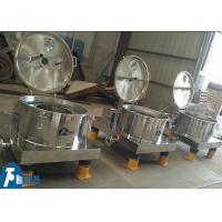 Plate Type Model Manual Discharge Small Centrifuge Machine For Coal Mine Project Manufactures