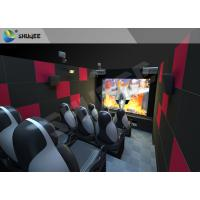 9 Seats Individual 5D Cinema System with Camera and Financial System Manufactures