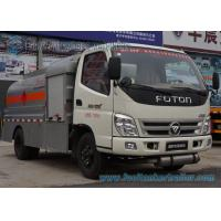 5 Speed Foton 4 x 2 Refuelling Chemical Tanker Truck With Air Braking Manufactures