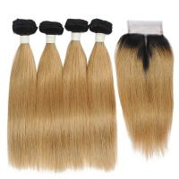 China Color 613# 20 inch Grade 6A Virgin Hair Bundles 100 Russian Hair Weaving on sale