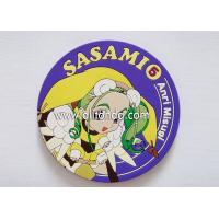 Factory price Eco-friendly promotional custom promotional rubber soft pvc silicone coasters Manufactures