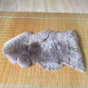 Quality Australian Sheepskin Rug Sheepskin Collection Genuine Sheepskin Pelt Black for sale