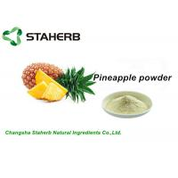 100% Natural Freeze Dried Pineapple Extract PowderFit Food Grade Beverage Manufactures