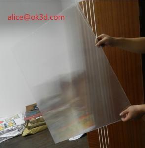 2021 HOT SALE 3D Lenticular Sheet Lens 51X71CM Lenticular Material 75/100/161/200 Lpi 3D Film Lenticular Lens Sheet Manufactures