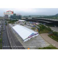 Big Waterproof PVC Exhibition Tent 50X115m with Air Conditioner for Car Show Manufactures