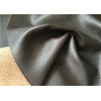 China Automotive leather with grain made with natural leather fibres and water power wholesale