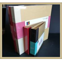 OEM Office products eco-friendly Ring Binder with kraft cover and cloth book spine Manufactures