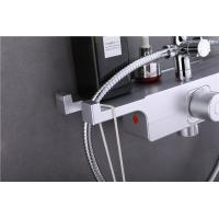 China Lead Free Thermostatic Bath Shower Valve , OEM Thermostat Controlled Water Valve for sale