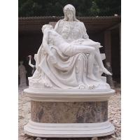 China Mary Holding Jesus Marble Sculpture on sale