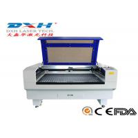Fabric / Leather Laser Engraving Machine 60 Watt Co2 Laser Engraver 0-800mm/S Manufactures