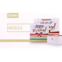 Birthday Coloured Paper Gift Bags , Funny Gift Bags Glossy Lamination Manufactures