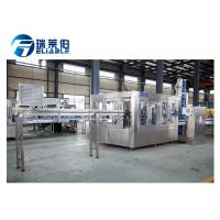 Stable Operated Complete Mineral Water Bottling Plant For Plastic Bottles Manufactures