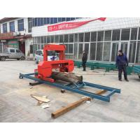 wood cutting used mini/small SH27 27'' portable sawmill Horizontal Band Saw with power of diesel engine/petrol engine