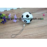 China Fashion Style Plastic Football Shaped USB Flash Drives for Promotional Gifts on sale
