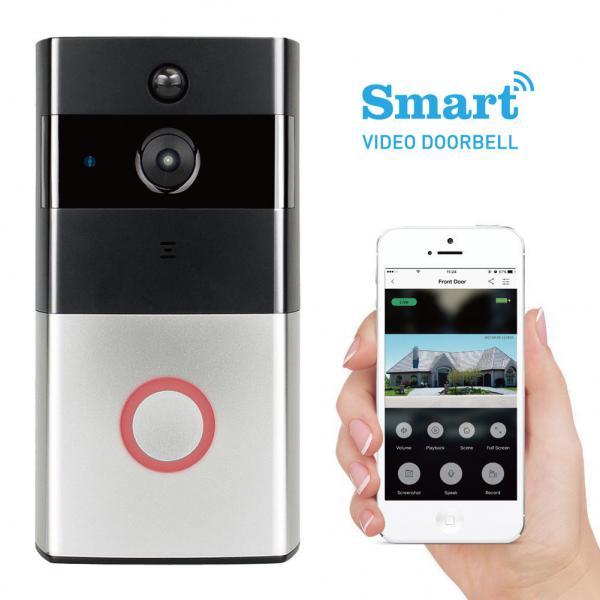 Quality New design ring wifi wireless hidden camera smart doorbell for sale