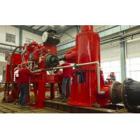UL Listed 2000gpm Fire Fighting Water Pump Set Diesel Engine / Electric Motor Driven Manufactures