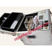 Fully Automatic Transformer Oil Dielectric Strength Detector, BDV Oil Tester machine,Insulation Oil Test Set Manufactures