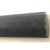 Plastic PVC Polyester Mesh Fabric For Replacing Screen Door And Pet Screen Manufactures