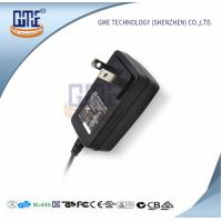 12 Volt AC DC Adapter Us Plug Wall Mount Adaptor , GME Switching Power Adapter Manufactures