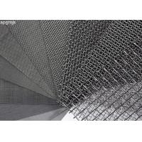 304L Stainless Steel Wire Mesh Panels With Plain Weave Type Heat Resistance Manufactures