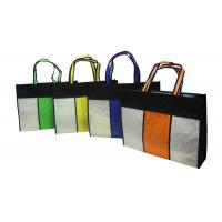 Square Reusable Carrier Bags / Reusable Grocery Bag For Advertising Manufactures