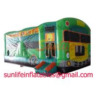 inflatable 0.55mm pvc tarpaulin jumping castle BO182 Manufactures