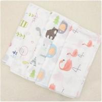 China Natural Bamboo Muslin Fabric 100 Cotton Enviroment Friendly Customized Material on sale