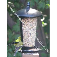 Seed feeder,Custom Color Metal Bird Feeders Black Powder Coated Finish Two Room Easy Clean Manufactures