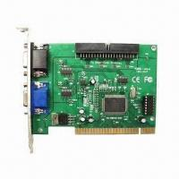 GV-250 DVR Card/V8.2 15fps 16 Channels Video Capture Card, Compatible with Geovision Manufactures