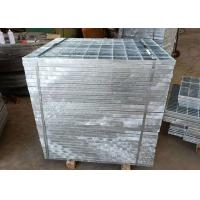 Hot Dip Stainless Steel Driveway Grates Flat / Serrated Bar Alkali Corrosion Manufactures