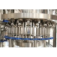 China SS304 Carbonated Beverage Filling Machine , Automatic Filling Machines And Equipment on sale