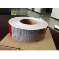 China Glass beads type AC100 Conspicuity reflective tape with DOT-C2 mark on sale